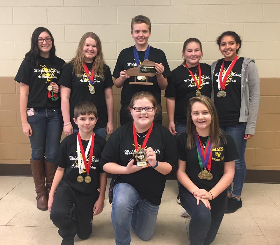 MMS Academic Team District Runner-Up