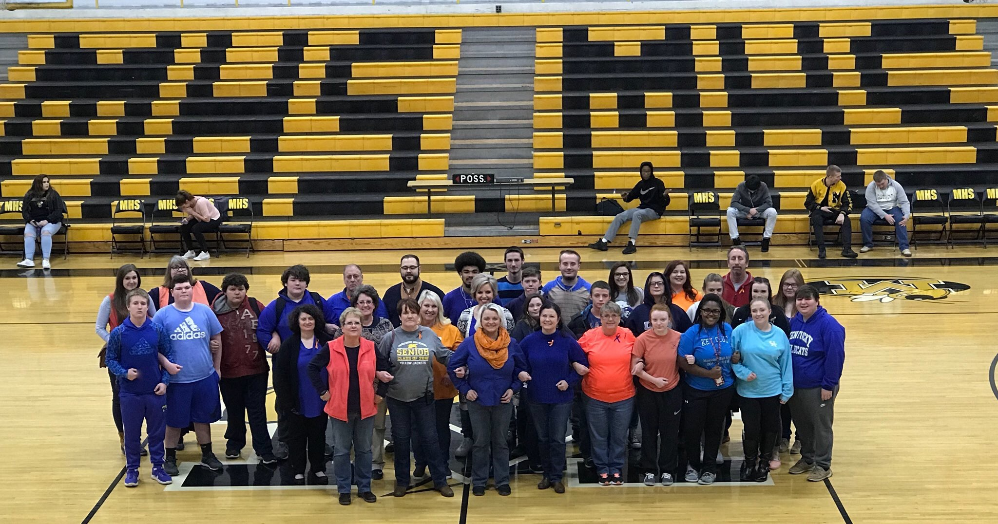 MHS supports Marshall Co